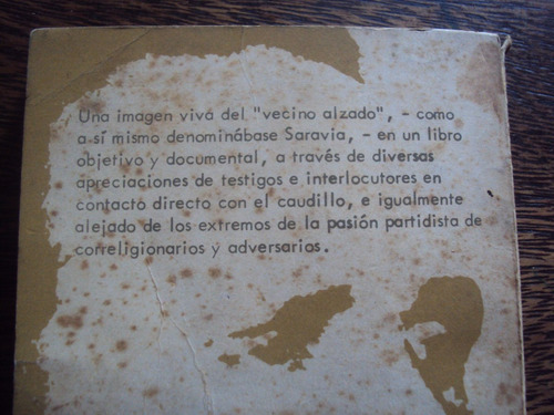 saravia. el caudillo y su tiempo. alfredo castellanos