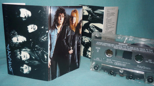saraya - cassette (1989 - polygram records)