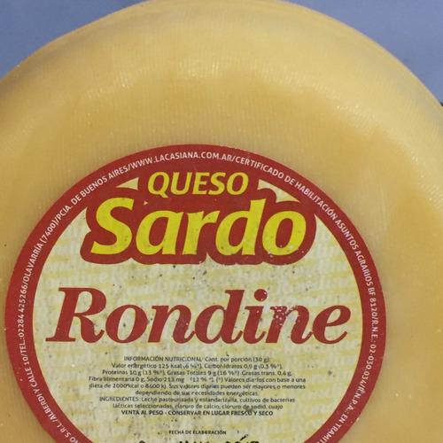 sardo semi estacionado rondine