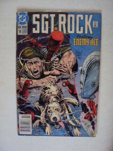 sargent rock # 18 - dc comics - importada