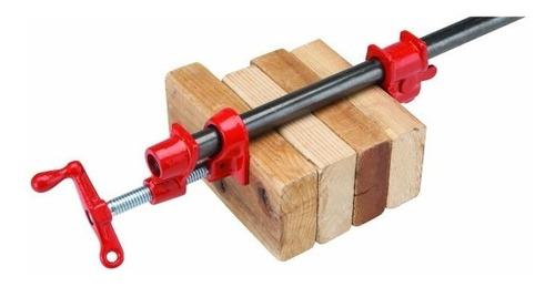 sargento de tubo de 3/4 para carpinteria + curso carpintería