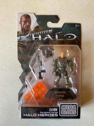 sargento forge - halo wars heroes - mega construx series 2