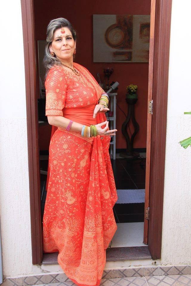 7079900f48bc8 sari indiano traje de festa roupa indiana. Carregando zoom.
