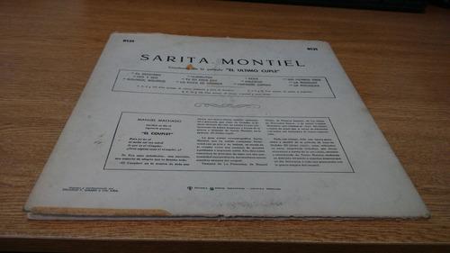 sarita montiel - el ultimo cuple - vinilo