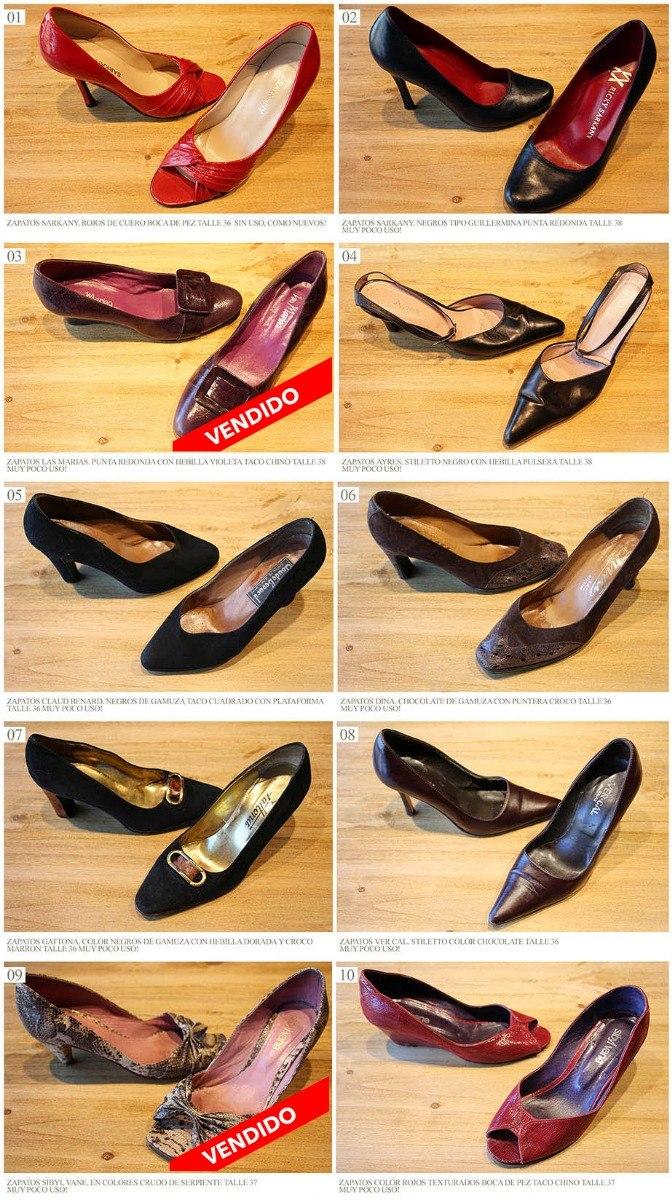 16515bcc45f Zapato sarkany paruolo stilettos negro mujer feria americana jpg 672x1200  Sarkany paruolo charol punta redondo zapatos