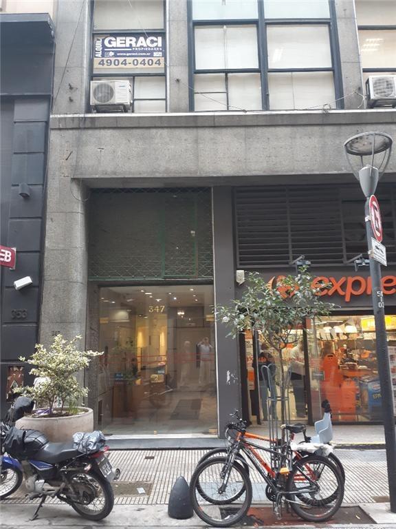 sarmiento 300 2 9 - microcentro (comercial) - oficinas planta dividida - venta