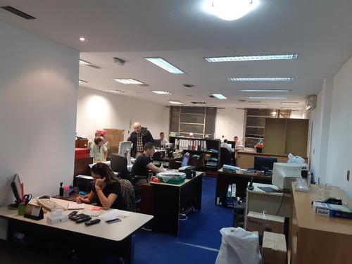 sarmiento 300 - microcentro (comercial) - oficinas planta libre - alquiler