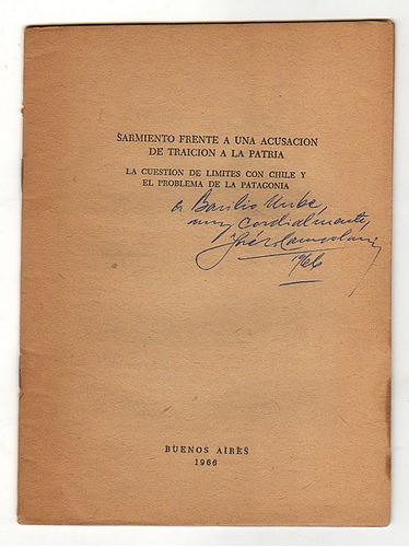 sarmiento frente a una acusación de, j. campobassi (firmado)