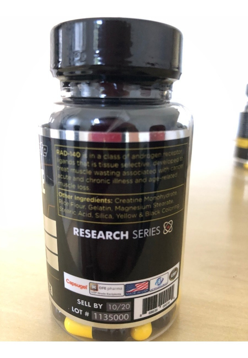 Sarms Enhanced Athlete Testolone Rad-140 60caps