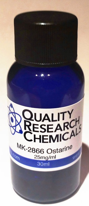 Sarms Ostarine Liquido 30/25mg Quality Research Chemicals