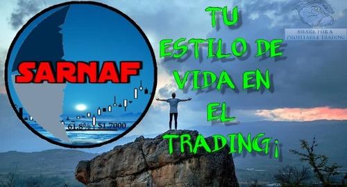sarnaf trading mas 90% curso para ganar usd exponencialmente