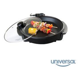 Sarten Asador Universal Electrico 32cms Tapa L88610 1300 Wat