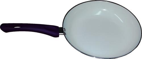 sarten de cerámica de 28 cm de diámetro mango siliconado  ca