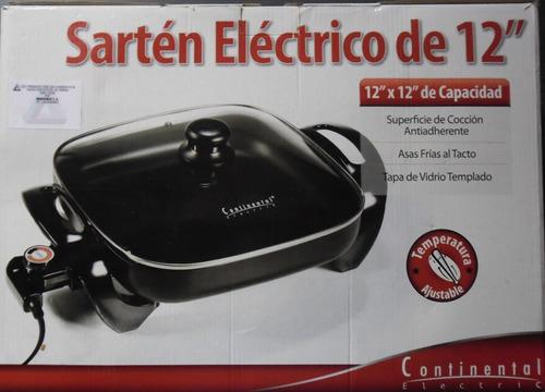 sarten electrico 12  antiaderente continental