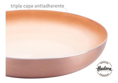 sarten hudson  antiadherente ceramico 22 cm aluminio
