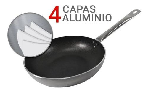 sarten profesional mehtap teflon 28 cm mango de acero