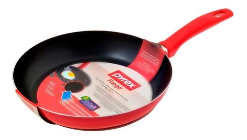 sartén pyrex 24 cm teflón antiadherente doble capa línea fuego sartenes cocina cuerpo de aluminio 1.8 mm