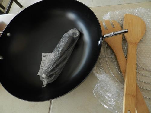 sarten wok de 30 cm