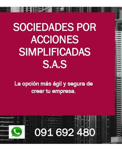 sas - sociedades por acciones simplificadas - empresa