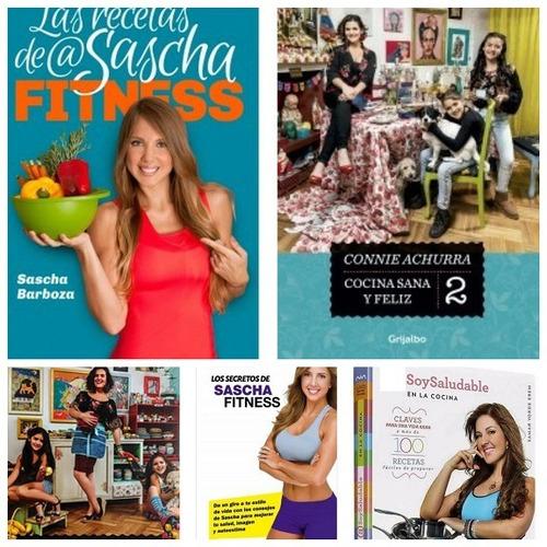 sascha fitness  cocina y cuerpo sano 5libros recetas