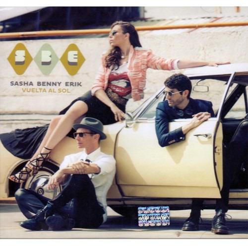 sasha benny erik vuelta al sol disco cd con 12 canciones