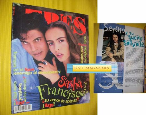 sasha sokol francisco gatorno sergio blass revista eres 1995