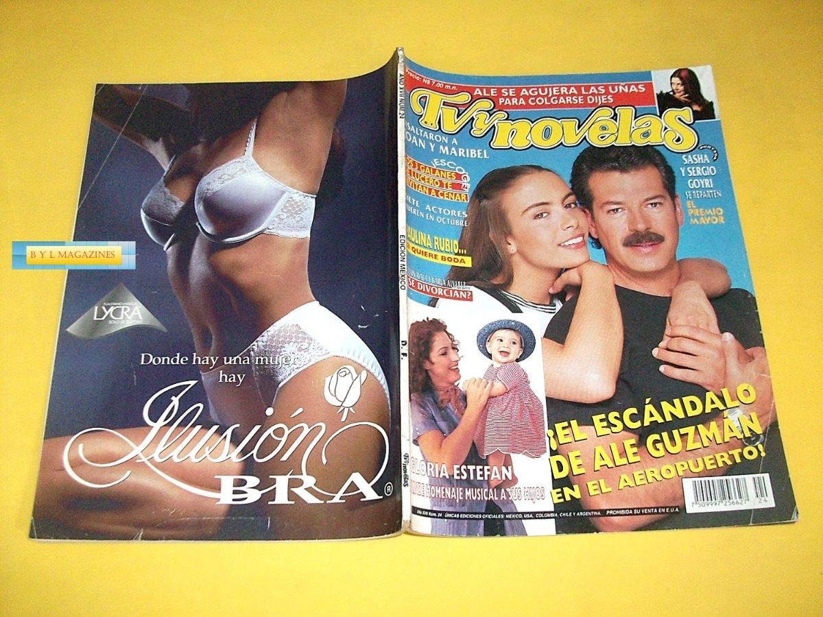 Sasha Thalia Laura Leon Lucero Yuri Revista Tv Y Novelas