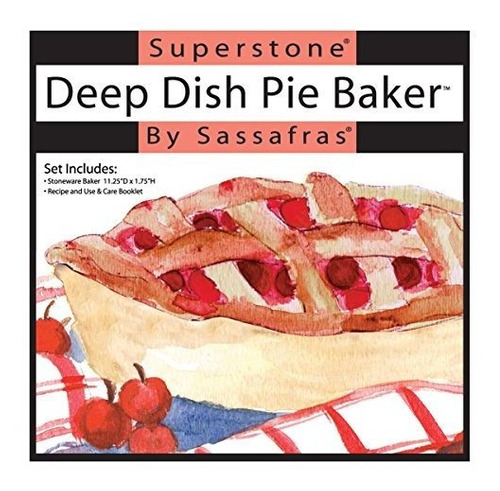 sassafras superstone plato profundo pizza / pastel de panade
