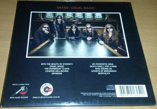 satan - cruel magic (slipcase) cd lacrado