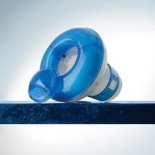 satelite flotador dosificador cloro para piscinas marca dg