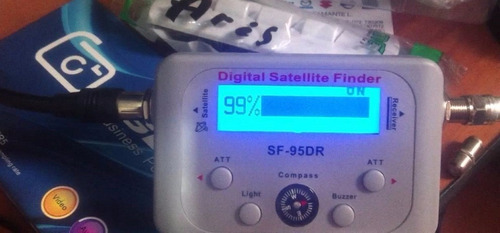 satfinder digital sat finder buscador señal satelital
