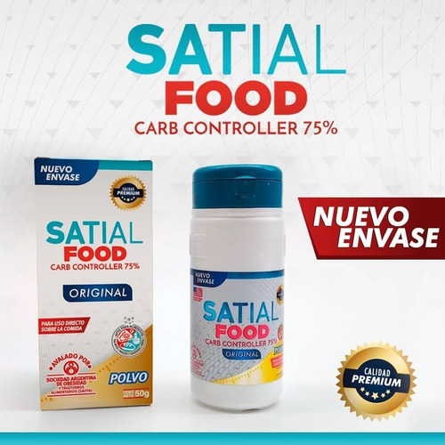satial food carb controller polvo 50g bloquea carbohidratos