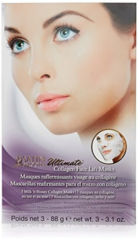 satin smooth ultimate face lift collagen mask, 3.1 ounce, 3