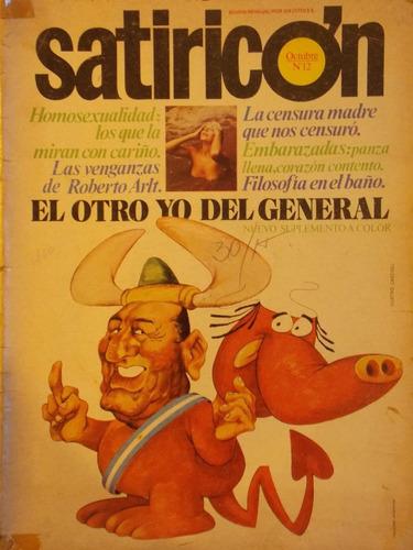 satiricón, 1973, humor argentino, nº 12