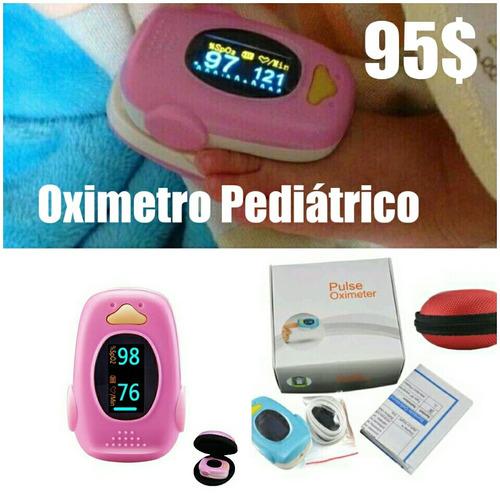 saturador infantil, oximetro de pulso,  pediatrico