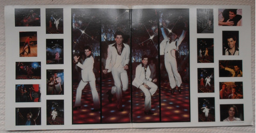 saturday night fever soundtrack (2 l ps 1ra. ed. u s a 1977)