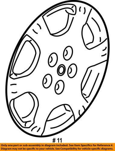 Saturn Gm Oem 02 07 Vue Wheels Wheel Cover 22624423