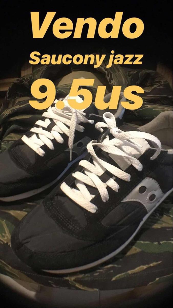 best service 996c4 3a2a3 Saucony Jazz 9.5us