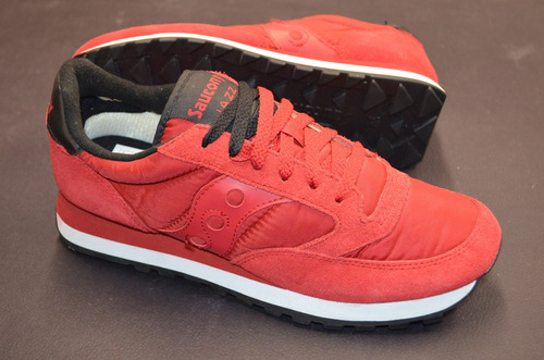 saucony jazz original red/black pack us9 nuevas importadas