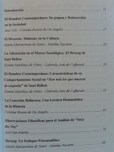 saul bellow, ensayos críticos. comp. ana celi - ed. unrc