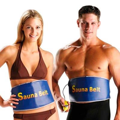 sauna belt faja termica original baja peso facilmente