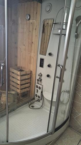 sauna, cámara a vapor y seca