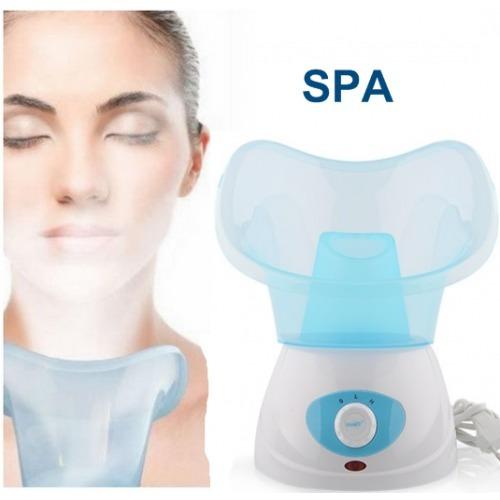 sauna facial vaporizador limpieza rostro poros puntos negros