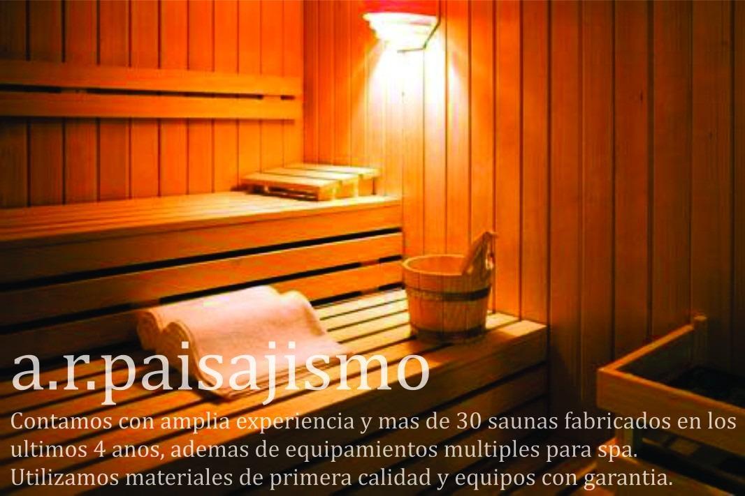 Sauna madera sauna fssn modelos cabaas de madera en casa - Tipos de saunas ...