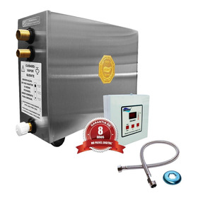 Sauna Vapor Elétrica 12kw 220 Bif + Comando Digital Impercap