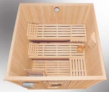 saunas de madera hechos a la medida.