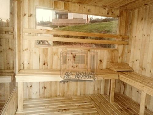 saunas en madera