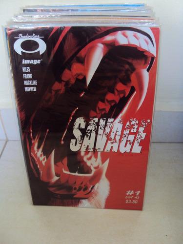savage - 4 edições - importada - image