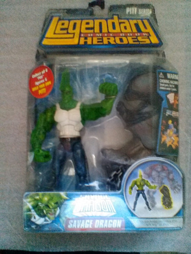 savage dragon variant legendary comic book heroes serie pitt