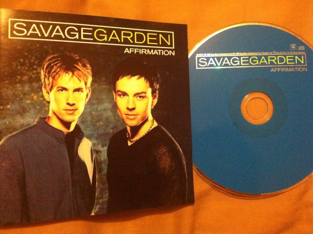Savage Garden Affirmation Cd Importado - $ 150.00 en Mercado Libre